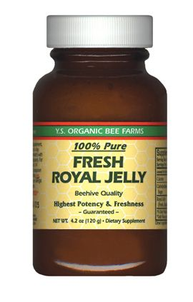 DROPPED: YS Organic Bee Farms - Fresh Royal Jelly (Glass Bottle) 120000 mg. - 4.2 oz.