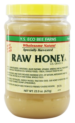 YS Organic Bee Farms - Raw Honey - 22 oz.