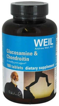 DROPPED: Weil Nutritional Supplements - Glucosamine & Chondroitin - 180 Tablets