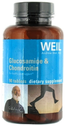 DROPPED: Weil Nutritional Supplements - Glucosamine & Chondroitin - 90 Tablets