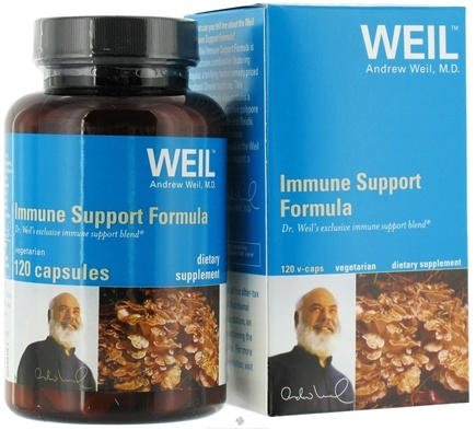 DROPPED: Weil Nutritional Supplements - Immune Support Formula - 120 Vegetarian Capsules
