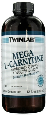 DROPPED: Twinlab - L Carnitine Mega - 12 oz. CLEARANCE PRICED