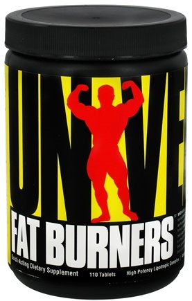 DROPPED: Universal Nutrition - Fat Burners - 110 Tablets CLEARANCE PRICED