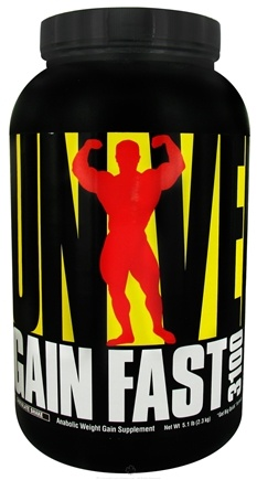 DROPPED: Universal Nutrition - Gain Fast 3100 Chocolate - 5.1 lbs. CLEARANCE PRICED
