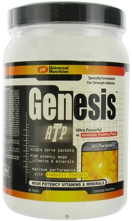 DROPPED: Universal Nutrition - Genesis Formula - 30 Packet(s)