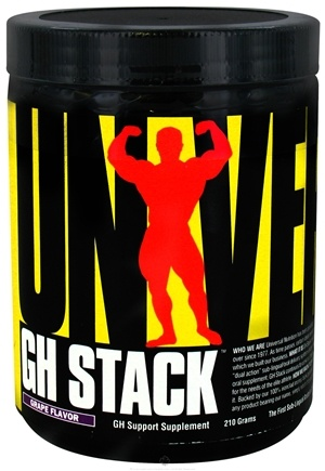 DROPPED: Universal Nutrition - GH Stack Grape Flavor - 210 Grams CLEARANCE PRICED