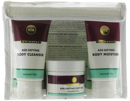 DROPPED: Zia - Ultimate Age-Defying Body Starter Kit Normal to Dry - CLEARANCE PRICED