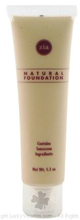 DROPPED: Zia - Foundation Alabaster 8 SPF - 1.1 oz.