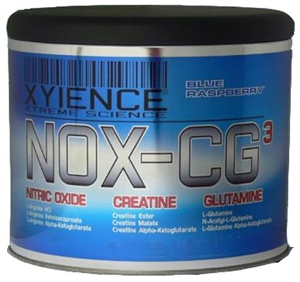 DROPPED: Xyience - NOX-CG3 Blue Raspberry - 780 Grams