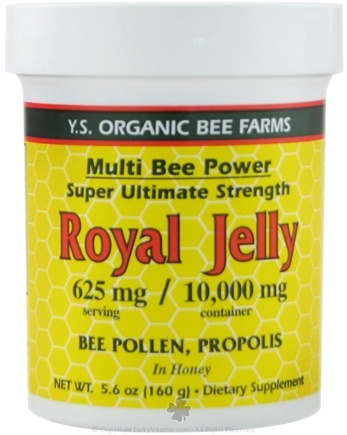 DROPPED: YS Organic Bee Farms - Multi Bee Power Royal Jelly 625 mg. - 5.6 oz.