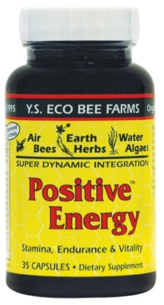 DROPPED: YS Organic Bee Farms - Positive Energy - 35 Capsules