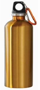 DROPPED: New Wave Enviro Products - Stainless Steel Water Bottle (Gold) - 20.2 oz.