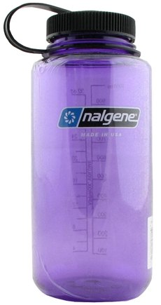 DROPPED: Nalgene - Widemouth Water Bottle (Just Purple) - 32 oz.