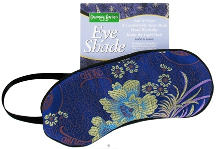 DROPPED: Grampa's Garden - Eye Shades (with Strap) Brocade - CLEARANCE PRICED