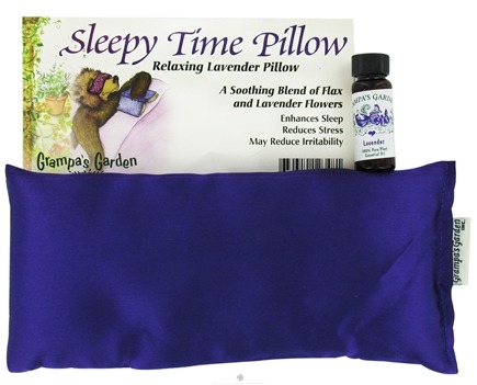 DROPPED: Grampa's Garden - Sleepy Time Pillow Purple Baroque Satin Fabric - CLEARANCE PRICED