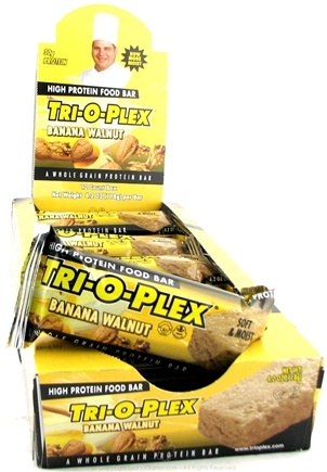 DROPPED: Chef Jay's - Tri-O-Plex High Protein Bar Banana Walnut - 4.2 oz.