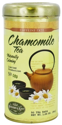 DROPPED: Hedgerow & Kent - Chamomile Tea Caffeine Free - 30 Tea Bags Formerly called Good 'N Natural, Herbal Authority