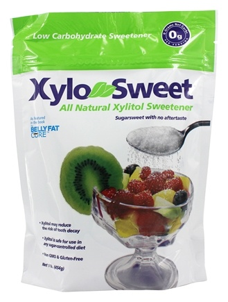 Xlear - XyloSweet All Natural Low Carb Xylitol Sweetener - 1 lb.