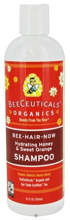 DROPPED: BeeCeuticals Organics - Shampoo Bee-Hair-Now Hydrating Honey - 12 oz.