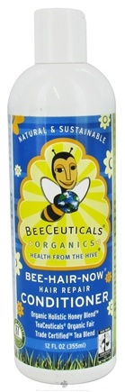DROPPED: BeeCeuticals Organics - Conditioner Bee-Hair-Now Hair Repair - 12 oz.