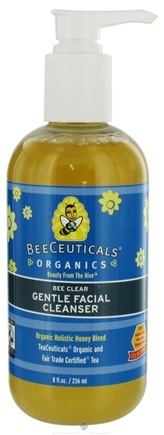 DROPPED: BeeCeuticals Organics - Bee Clear Gentle Facial Cleaser - 8 oz.