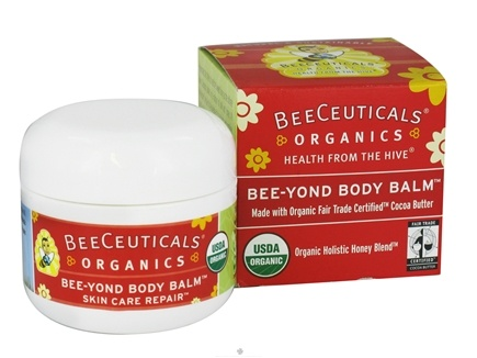 DROPPED: BeeCeuticals Organics - Bee-Yond Body Balm - 2 oz. CLEARANCE PRICED