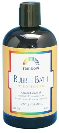 DROPPED: Rainbow Research - Bubble Bath Wildflower - 12 oz. CLEARANCE PRICED