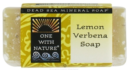 DROPPED: One With Nature - Dead Sea Mineral Bar Soap Mini Lemon Verbena - 1.05 oz.