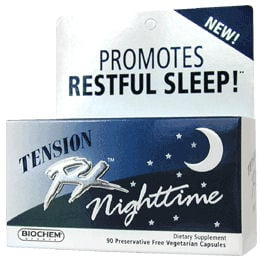 DROPPED: Biochem by Country Life - Tension RX Night Time - 90 Vegetarian Capsules