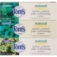 DROPPED: Tom's of Maine - Natural Antiplaque Tartar Control + Whitening TP Apricot - 6 oz.