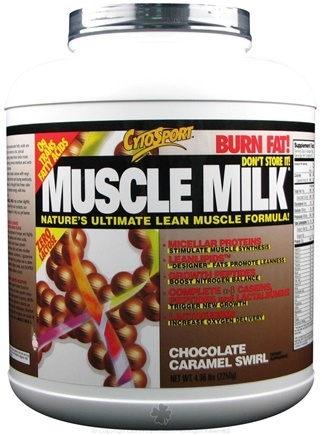 DROPPED: Cytosport - Muscle Milk Ultimate Lean Muscle Formula Chocolate Caramel Swirl - 4.96 lbs.