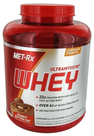 DROPPED: MET-Rx - Ultramyosyn Whey Peanut Butter Cup - 5 lbs.