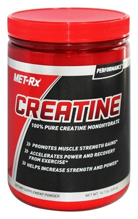 MET-Rx - Creatine Powder Pharmaceutical Grade - 14.1 oz.