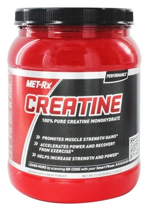 MET-Rx - Creatine Powder Pharmaceutical Grade - 2.2 lbs.