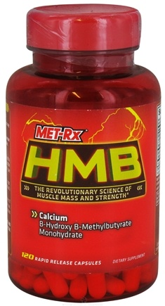 DROPPED: MET-Rx - HMB 1000 mg.per serving - 120 Capsules