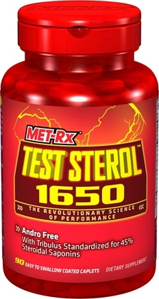DROPPED: MET-Rx - Test Sterol 1650 Andro Free with Tribulus - 90 Tablets CLEARANCE PRICED