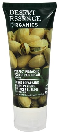 Desert Essence - Foot Repair Cream Perfect Pistachio - 3.5 oz. LUCKY PRICE