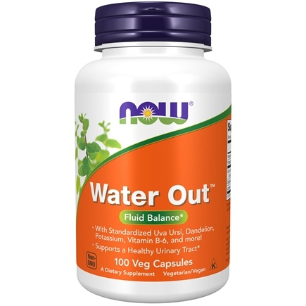 NOW Foods - Water Out Herbal Diuretic - 100 Vegetarian Capsules