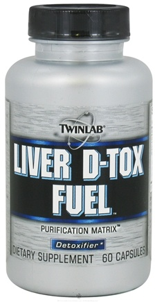 DROPPED: Twinlab - Liver D-Tox Fuel Purification Matrix - 60 Capsules