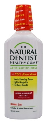 Natural Dentist - Healthy Gums Daily Oral Rinse Orange Zest - 16.9 oz.
