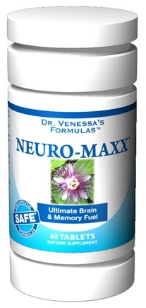 DROPPED: Dr. Venessa's Formulas - Neuro-Maxx - 60 Tablets CLEARANCED PRICED