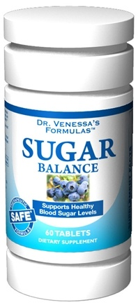 DROPPED: Dr. Venessa's Formulas - Sugar Balance with Banaba Leaf - 60 Tablets CLEARANCE PRICED