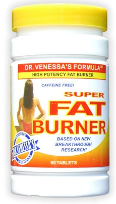 DROPPED: Dr. Venessa's Formulas - Super Fat Burner High Potency Caffeine-Free - 60 Tablets