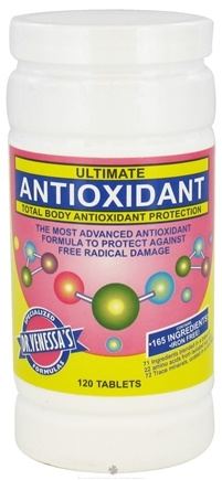 DROPPED: Dr. Venessa's Formulas - Ultimate Antioxidant - 120 Tablets