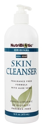 Nutribiotic - Non-Soap Skin Cleanser Original Fragrance Free - 16 oz.