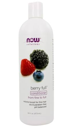 DROPPED: NOW Foods - Natural Full Conditioner Volumizing Berry - 16 oz. CLEARANCE PRICED