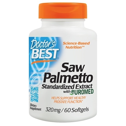 Doctor's Best - Best Saw Palmetto Extract 320 mg. - 60 Softgels