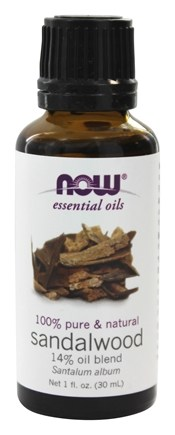 NOW Foods - Sandalwood Oil Blend 100% Natural - 1 oz.