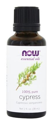 NOW Foods - Cyprus Oil 100% Pure and Natural - 1 oz.