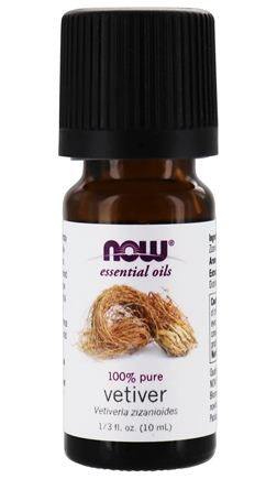 DROPPED: NOW Foods - Vetiver Oil 100% Pure and Natural - 1 oz.